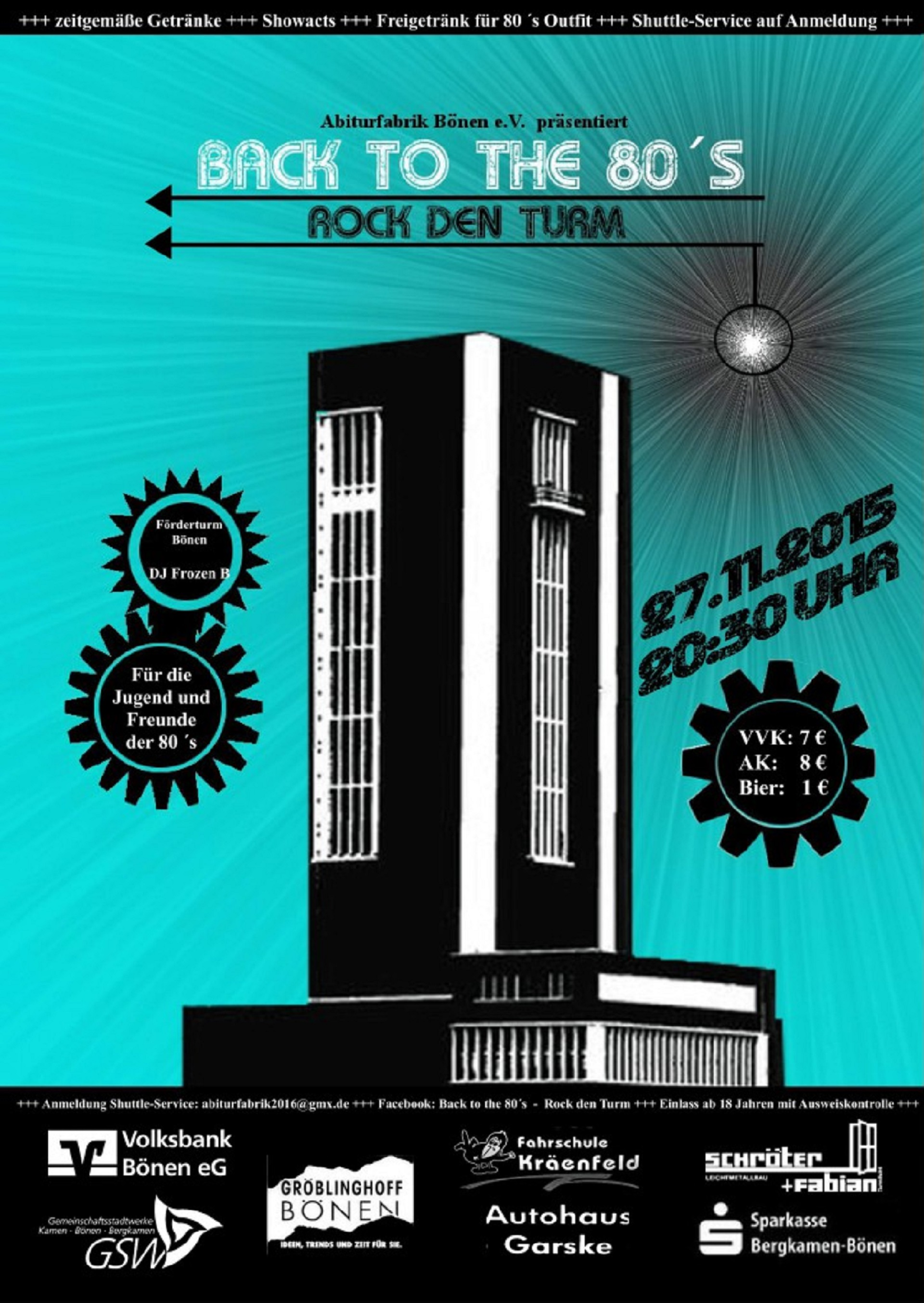 Rock den Turm am 27. November