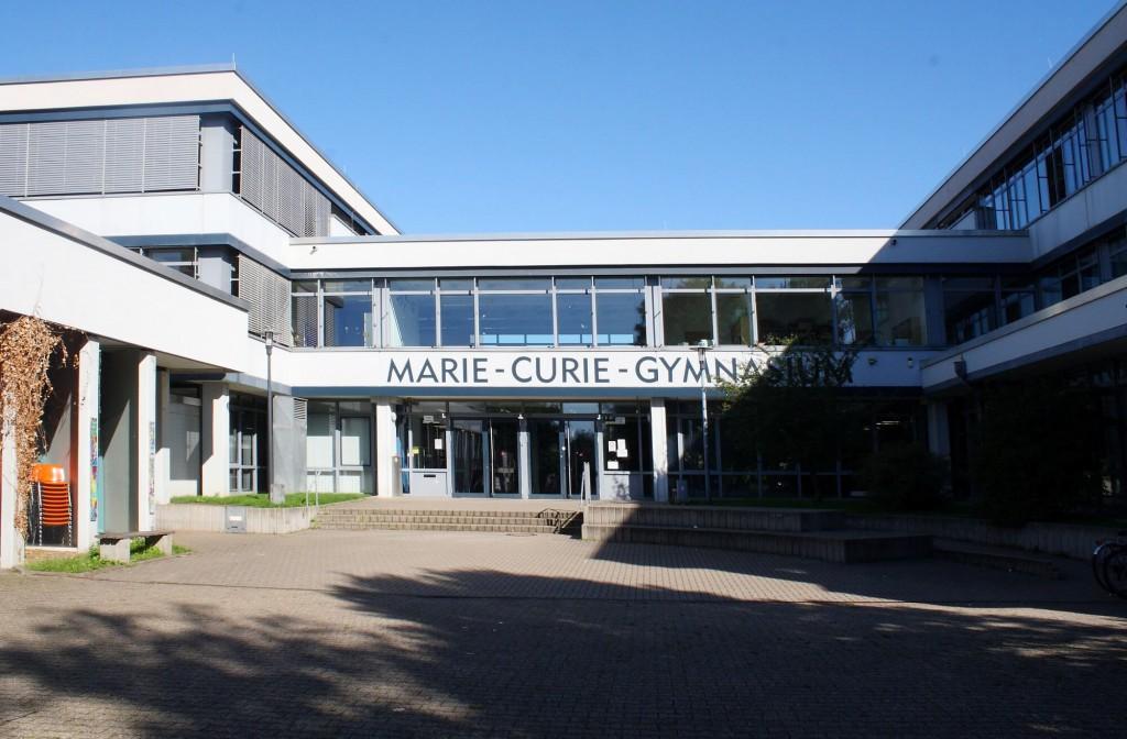 Marie-Curie-Gymansium Bönen (Frontansicht)