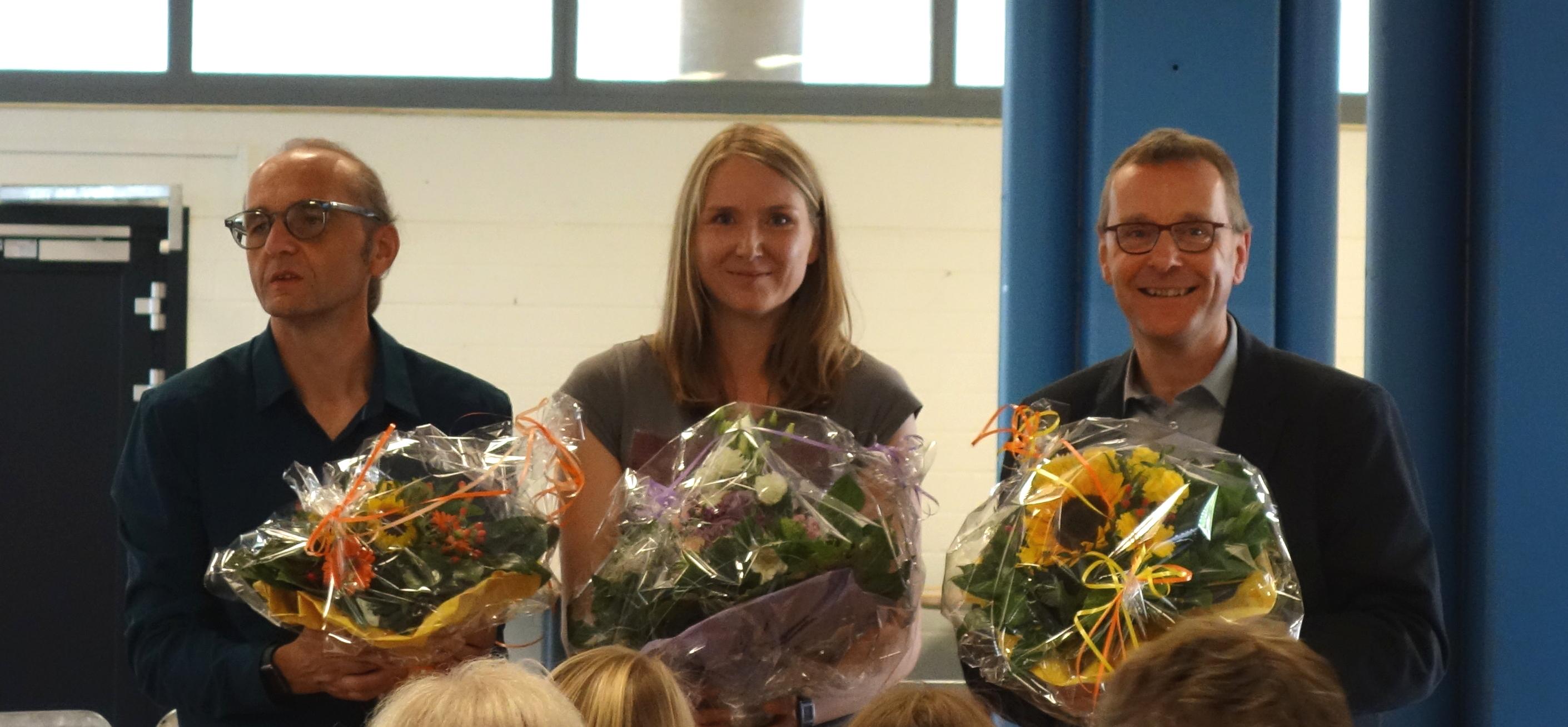 Verabschiedung von Frau Wilhelms, Herrn Höck und Herrn Dr. Feldkemper