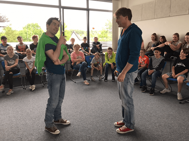 Wolfgang-Borchert-Theater zu Gast am MCG
