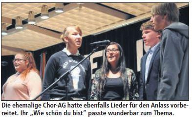 Chor-Verleihung