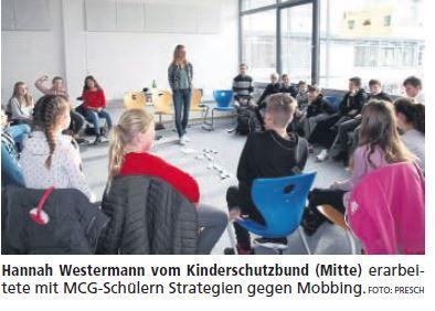 Strategien gegen Cyber-Mobbing