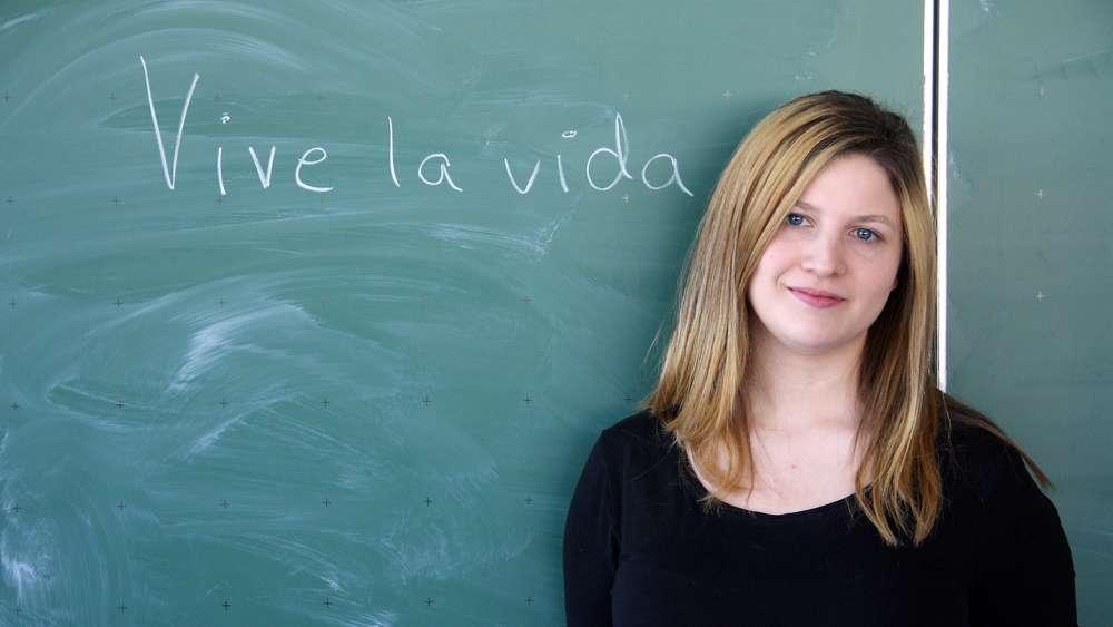Von Sevilla nach Bönen: Delia Rodriguez unterrichtet Spanisch am MCG