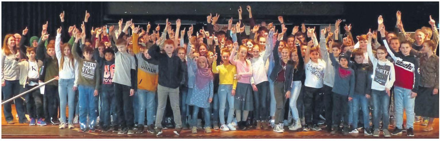 Neuer Rekord beim Mathe-Känguru-Wettbewerb am Marie-Curie-Gymnasium