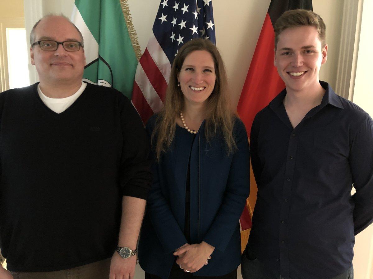 """US-Konsulat würdigt Bönener Pädagogen zur amerikanischen """"Lehrerwoche"""""""