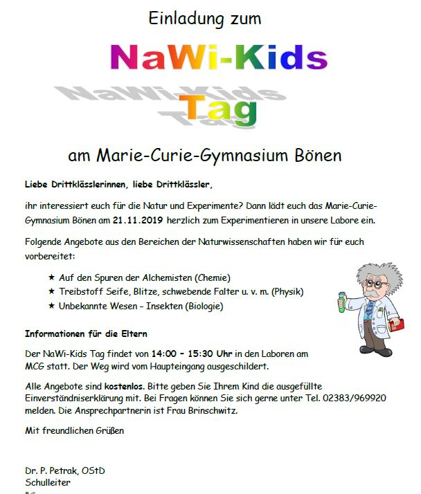 NaWi-Kids Tag am MCG