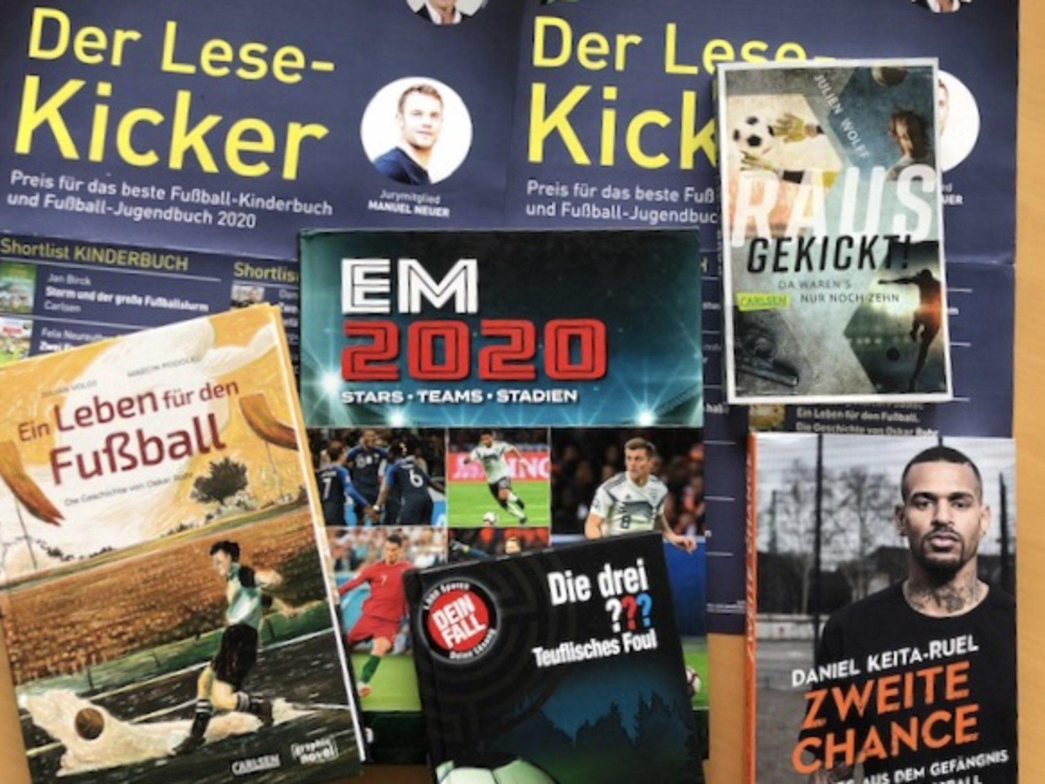 """Leseprojekt """"Lese-Kicker"""" am MCG – Durch Fussball fürs Lesen begeistern"""
