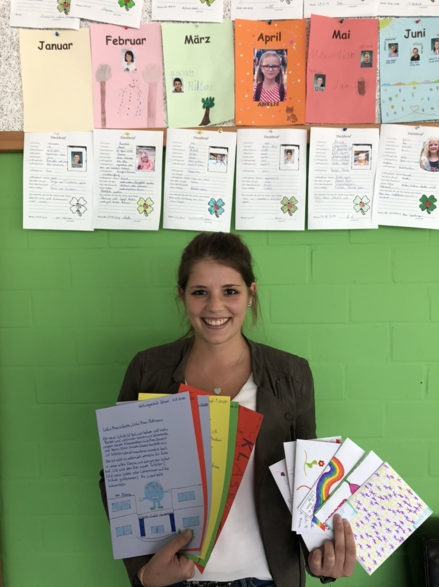 Ganz analog: Briefe an die Grundschule – Ein Briefprojekt am Marie-Curie-Gymnasium