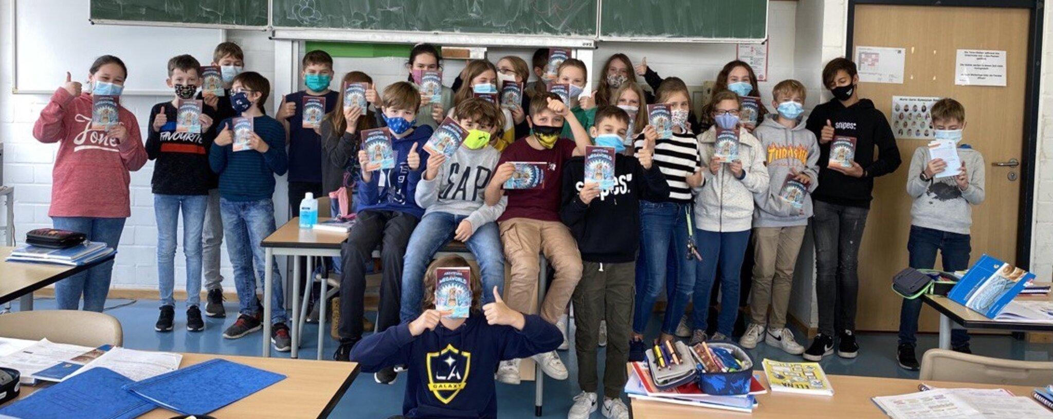 Deutschprojekt am Marie-Curie-Gymnasium: Der Welttag des Buches