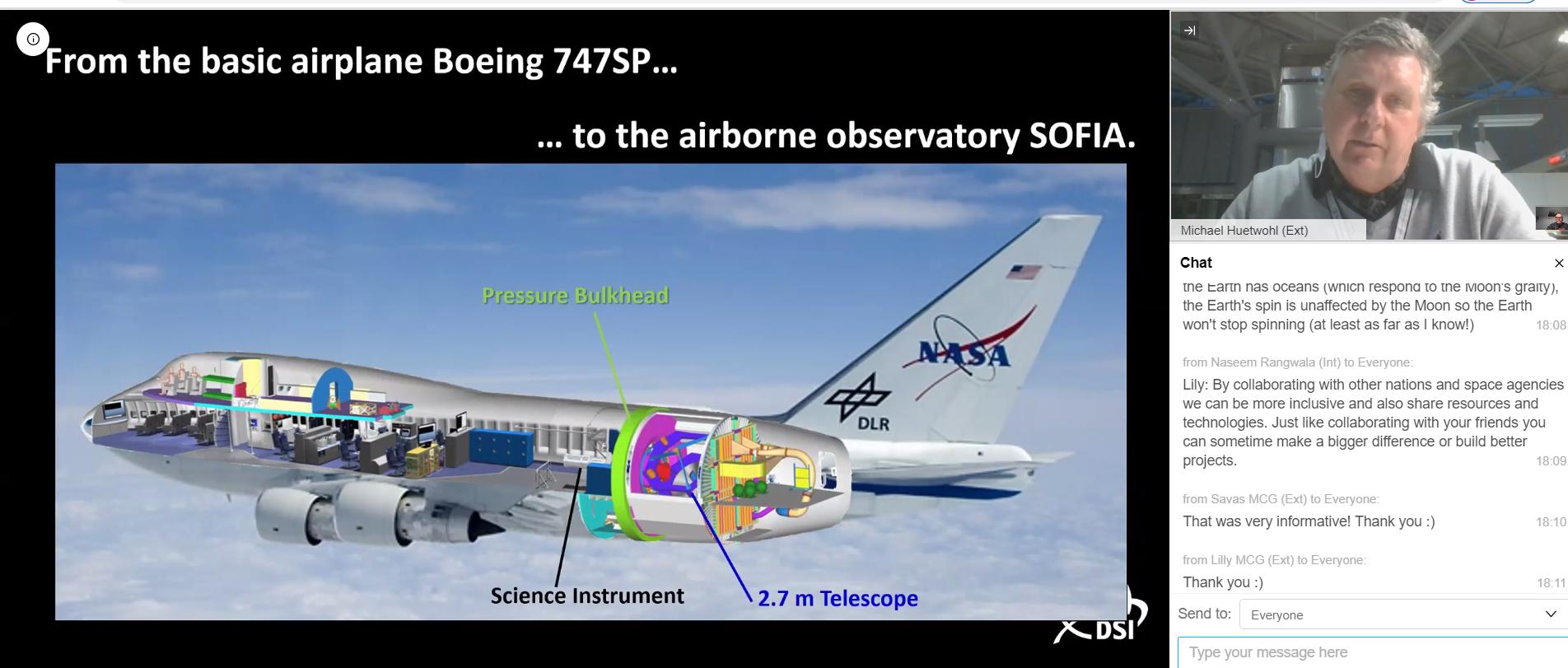 MCG trifft NASA 2