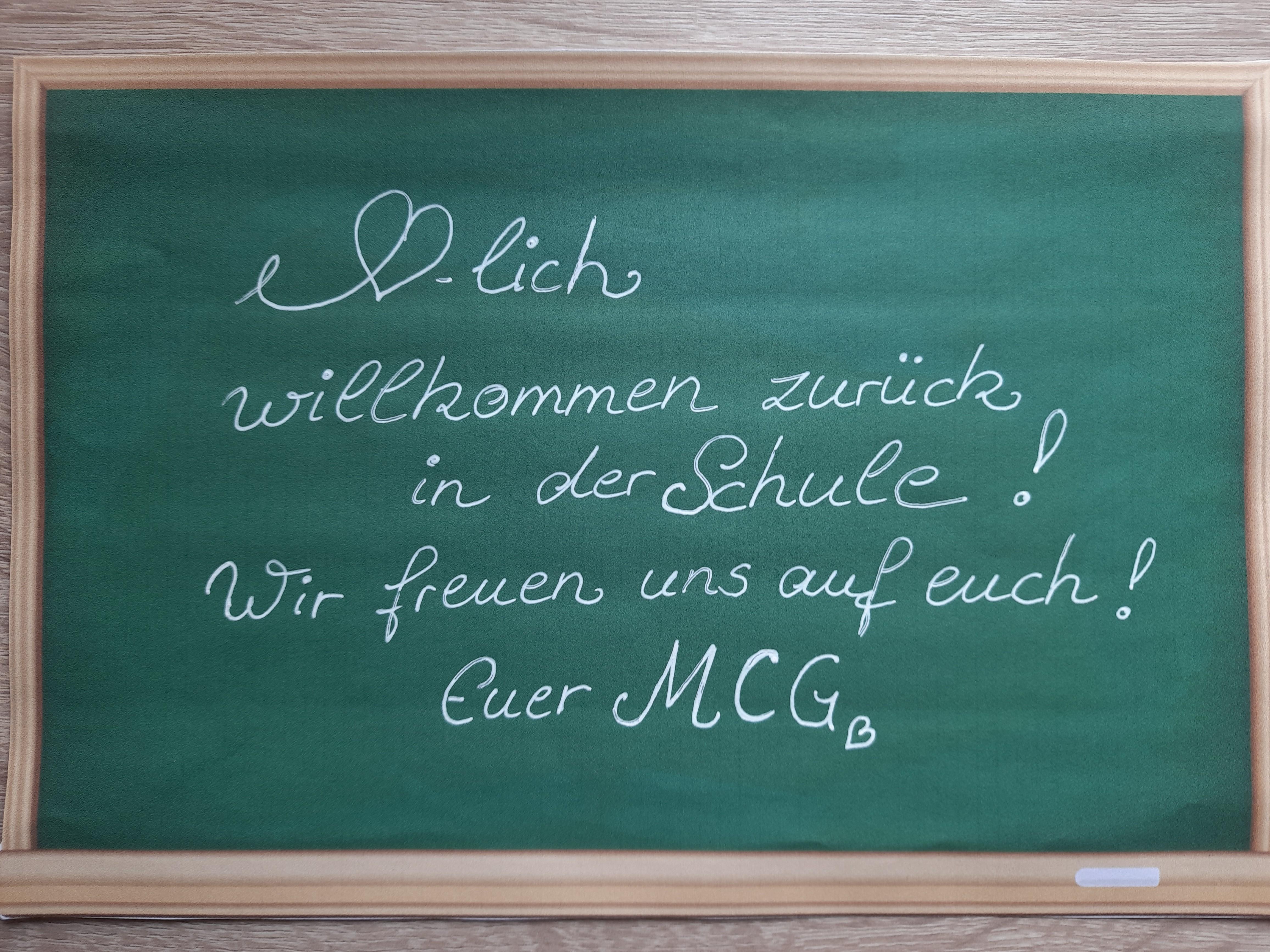 Erinnerung/Hinweis zum Schulbetrieb ab Montag, 31.05.